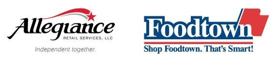 Allegiance_Foodtown_Side by Side logos